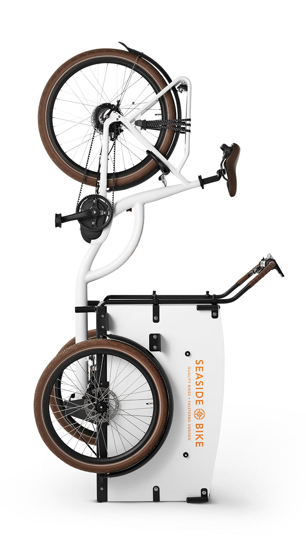 Seaside Bike på nosen.
